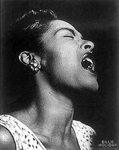 "Billie Holiday ""Songstress Portrait"" (c.1940) - photographer William P. Gottlieb"