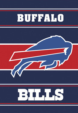Buffalo Bills Official NFL Football Premium 28x40 Banner Flag - BSI Products