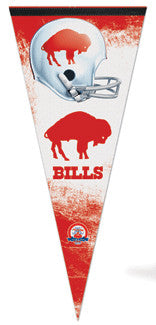 "Buffalo Bills ""Big Red"" AFL Throwback EXTRA-LARGE Premium Pennant"