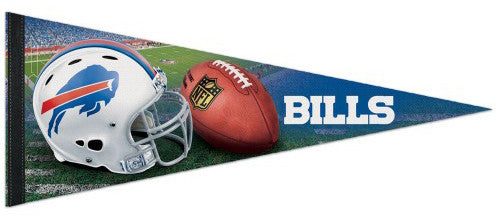 Buffalo Bills NFL Football Official Premium Felt Pennant - Wincraft Inc.