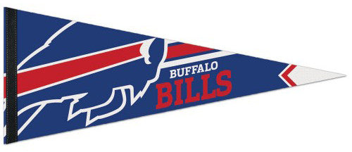 Buffalo Bills Official NFL Football Logo-Style Premium Felt Pennant - Wincraft Inc.