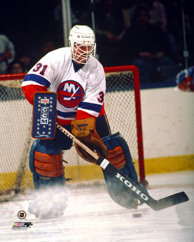 "Billy Smith ""Isles Classic"" (c.1983) New York Islanders Premium Poster - Photofile Inc."