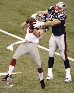 "Chase Blackburn ""Big-Time INT"" (Super Bowl XLVI) - Photofile 16x20"