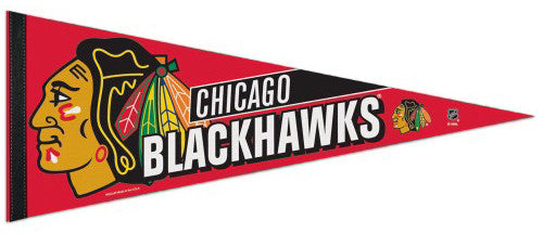 Chicago Blackhawks Official NHL Hockey Premium Felt Pennant - Wincraft