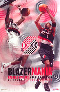 "Portland Trailblazers ""Blazermania"" - Starline 2003"