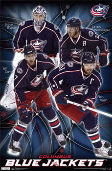 "Columbus Blue Jackets ""Super Four"" - Costacos 2011-12"