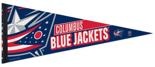 Columbus Blue Jackets Official NHL Hockey Premium Felt Pennant - Wincraft Inc.