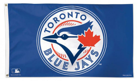 Toronto Blue Jays Official MLB DELUXE 3'x5' Flag - Wincraft Inc.