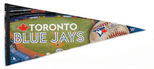 "Toronto Blue Jays ""Game Night"" Rogers Centre Extra-Large Premium Felt Pennant - Wincraft"
