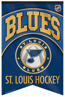 St. Louis Blues NHL Hockey Premium Felt Banner - Wincraft Inc.