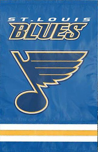 St. Louis Blues Official NHL Hockey Premium Applique Team Banner Flag - Party Animal