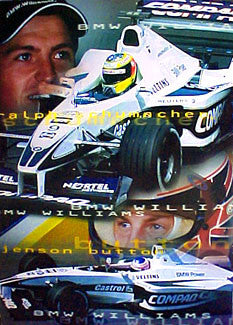 BMW Williams (R.Schumacher, Button) - UK 2000