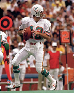Bob Griese Miami Dolphins Classic (1970s) Premium Poster Print - Photofile Inc.