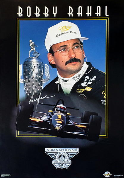 Bobby Rahal Indy 500 Champion Series Racing Superstar Poster - Costacos Brothers 1994