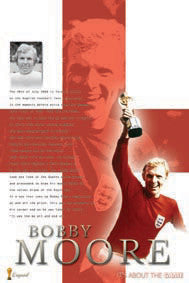 "Bobby Moore ""Legend"" Team England Soccer Poster (UK Import)"