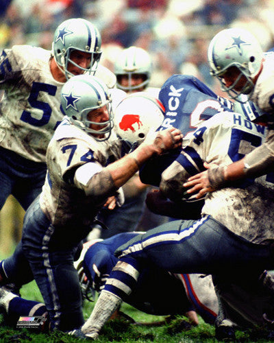 "Bob Lilly ""Intensity"" (1971) Dallas Cowboys Premium Poster Print - Photofile Inc."