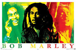 "Bob Marley ""Passion"" Reggae Music Superstar Poster - Aquarius Inc."