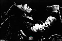 "Bob Marley ""Live In Concert"" Reggae Music Superstar Poster - Trends International"