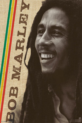 "Bob Marley ""Smile"" Reggae Music Superstar Poster - Trends International"