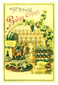 Continental Bodega Company (19th Century Wine Store) - Eurographics Inc.