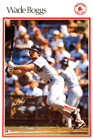 "Wade Boggs ""SI Classic"" (1987) Boston Red Sox Poster - Marketcom Inc."