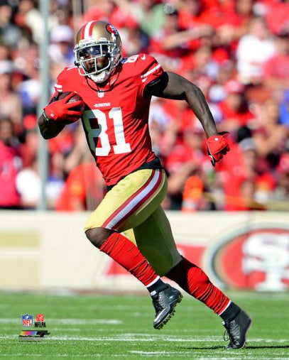"Anquan Boldin ""Superstar"" San Francisco 49ers Premium Poster Print - Photofile 16x20"