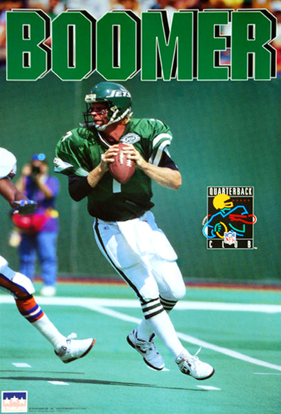 "Boomer Esiason ""Action"" New York Jets QB NFL Action Poster - Starline 1993"