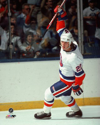 "Mike Bossy ""Goal!"" (c.1984) New York Islanders Premium Poster Print - Photofile Inc."