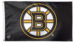Boston Bruins Official NHL Hockey Team Logo 3'x5' Deluxe-Edition Flag - Wincraft Inc.