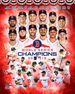 Boston Red Sox 2018 World Series Champions 12-Stars Premium Poster Print - Photofile Inc.