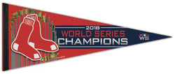 Boston Red Sox 2018 World Series Champions Premium Felt Collector's Pennant - Wincraft