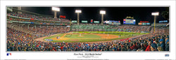 "Boston Red Sox ""World Series Action 2018"" Fenway Park Panoramic Poster Print - Everlasting (MA-425)"