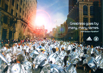 Boston Marathon 2009 Competitors Poster - Adidas