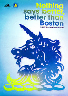 Boston Marathon 2010 Competitors Poster - Adidas