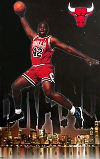"Elton Brand ""Rookie"" Chicago Bulls Poster - Costacos 1999"