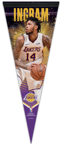 Brandon Ingram LA Lakers Player Action Series Premium Felt Collector's Pennant - Wincraft 2019