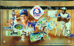 Atlanta Braves 20th Season (1985) Commemorative Collage Poster - FINA