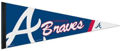 Atlanta Braves Official MLB Baseball Team Logo Premium Felt Pennant - Wincraft Inc.