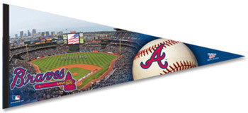 Atlanta Braves Turner Field XL Premium Felt Pennant - Wincraft Inc.