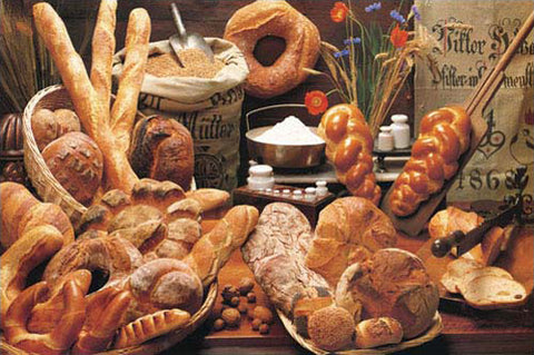 Bread Cornucopia Food Kitchen Poster - Eurographics Inc.