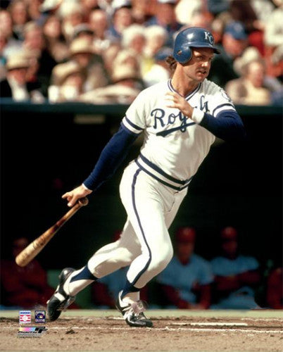 "George Brett ""Classic Stroke"" (c.1977) Kansas City Royals Premium Poster Print - Photofile"
