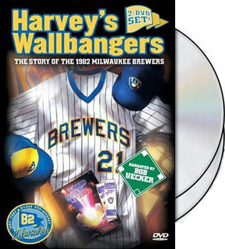 "DVD Set: ""Harvey's Wallbangers: The 1982 Milwaukee Brewers"""