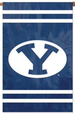 Brigham Young BYU Cougars Premium Applique Banner - Party Animal