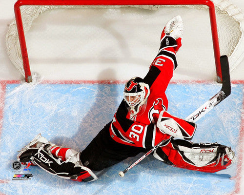 "Martin Brodeur ""Stretch Save Classic"" New Jersey Devils Premium Poster Print - Photofile Inc."