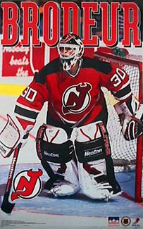 "Martin Brodeur ""Early Action"" (1995) New Jersey Devils Poster - Starline Inc."