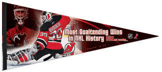 "Martin Brodeur ""All-Time"" Oversized Premium Felt Pennant - Wincraft"