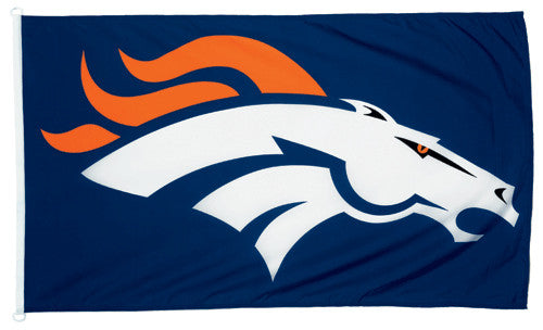 Denver Broncos Official NFL Football Deluxe-Edition 3'x5' Team Banner Flag - Wincraft
