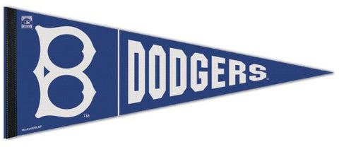 Brooklyn Dodgers MLB Cooperstown Collection 1932-36-Style Premium Felt Pennant - Wincraft