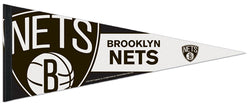 Brooklyn Nets Official NBA Logo-Style Premium Felt Collector's Pennant - Wincraft