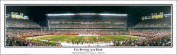 "Cleveland Browns Stadium ""The Browns Are Back"" Panoramic Poster Print - Everlasting"
